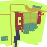 Mapa Zespołu Budynków Muzeum