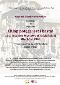 chlopPotegaJestIBasta110RocznicaWystawyWloscianskiejMiechow1903Min_poster